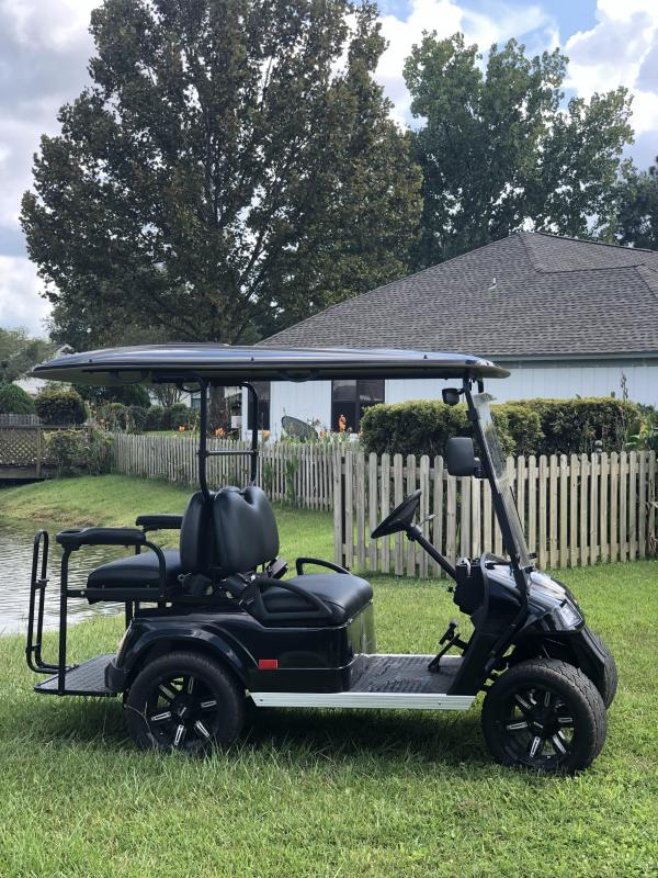 StarEV Classic 48V Electric Golf Cart Street Legal 4 Passenger Black