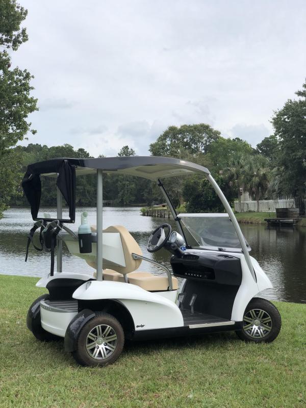 2019 Garia Electric Golf Car 2 Passenger White
