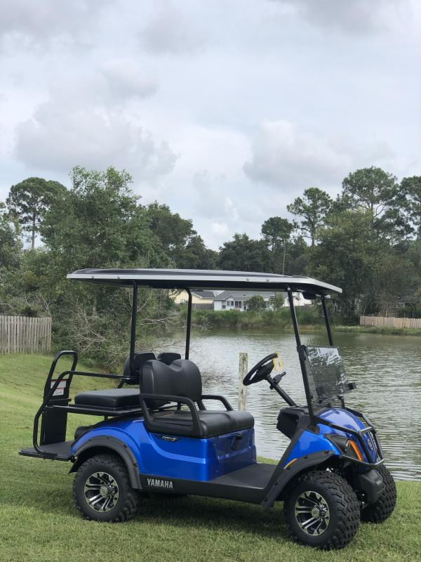 2020 Yamaha Drive 2 Adventurer Sport Gas Golf Cart