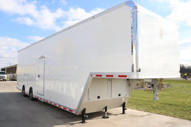 2019 inTech 40' Aluminum Gooseneck Sprint Car Trailer