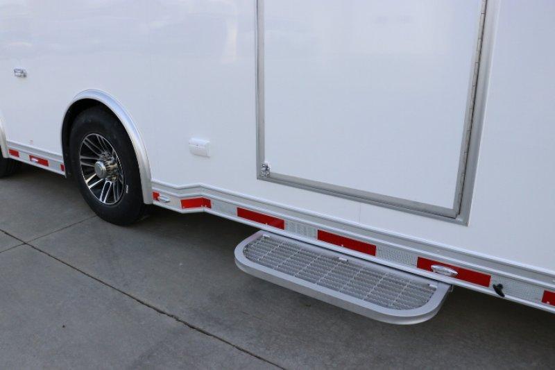 2019 inTech 40' Aluminum Gooseneck Sprint Car Trailer