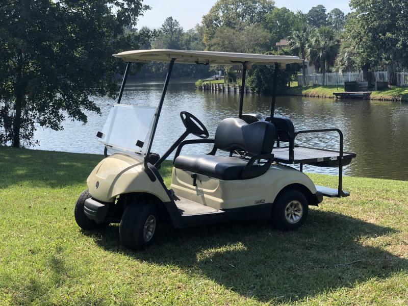 2015 Yamaha EFI Gas Golf Cart 4 Passenger