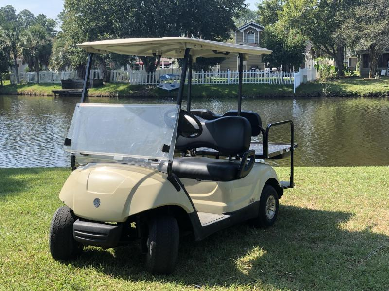 2015 Yamaha EFI Gas Golf Cart 4 Passenger