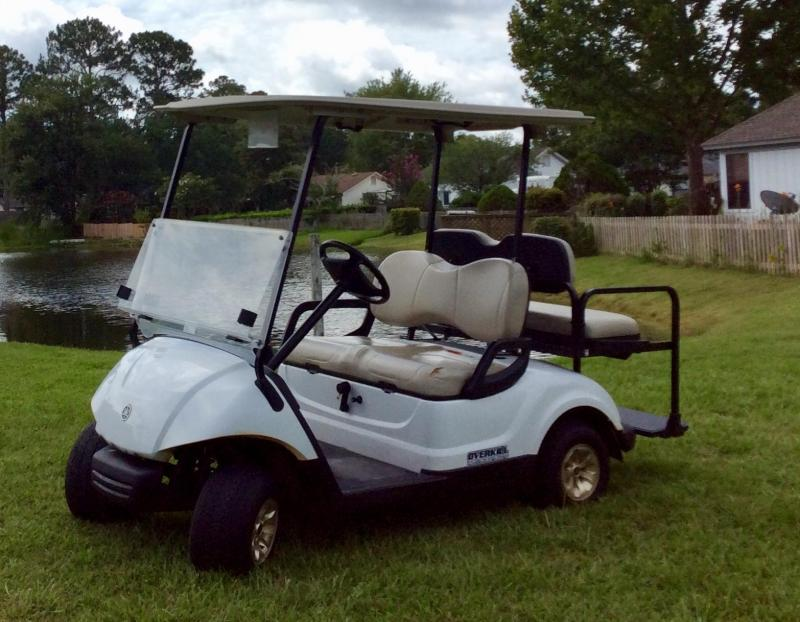 2015 Yamaha Carbureted Gas Golf Cart 4 Passenger