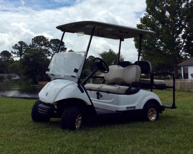 2015 Yamaha Carbureted Gas Golf Cart 4 Passenger