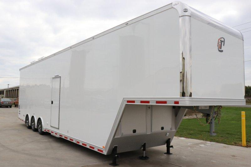 2019 inTech 42' All Aluminum Gooseneck Sprint Car Trailer