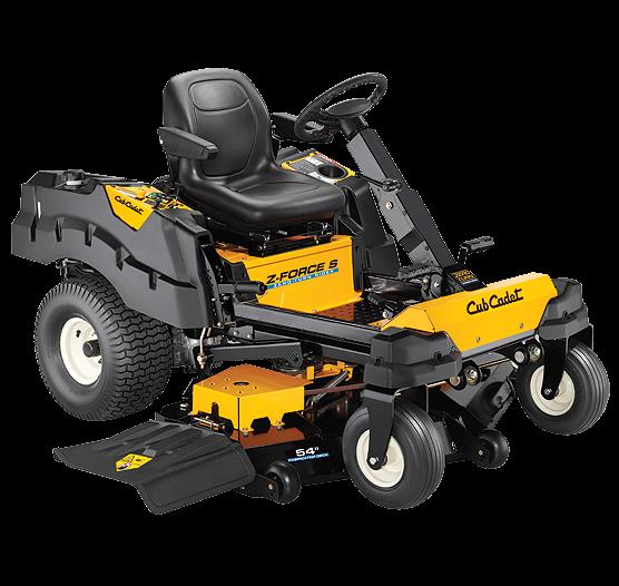 2019 Cub Cadet Z-Force® S 54 Zero-Turn Riding Mower Lawn