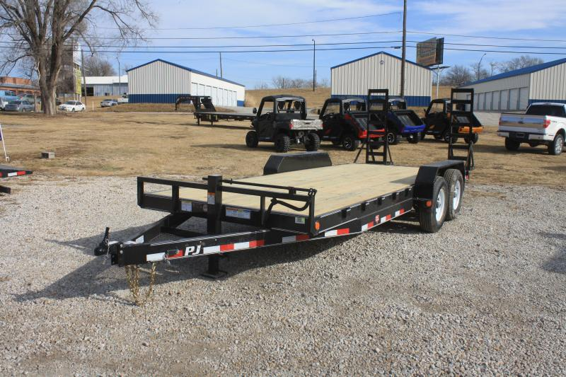 "2018 PJ Trailers 20' 6"" Channel Equipment (CC)"