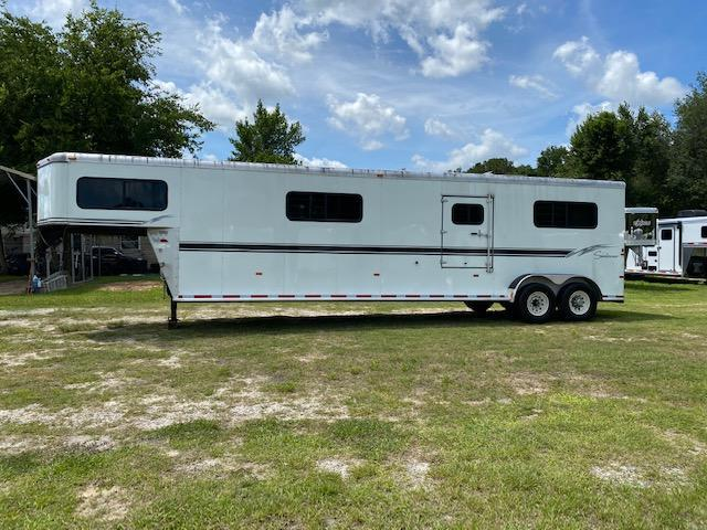 2003 Sundowner Trailers Transporter 4H Head to Head Horse Trailer