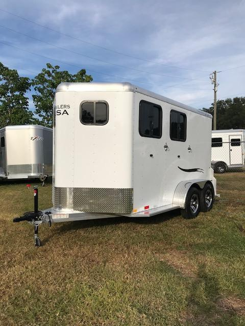 2020 Trailers USA  Minuteman 2H BP Horse Trailer