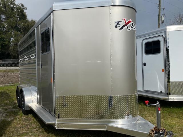2020 Exiss Express 3H CX BP Horse Trailer