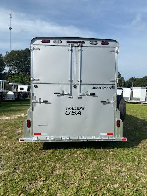 2020 Trailers USA Inc. Minuteman 3H BP w/ Dress Horse Trailer