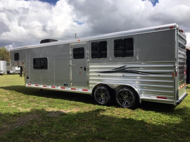 2020 Exiss Trailers 7311 CXF LQ Horse Trailer