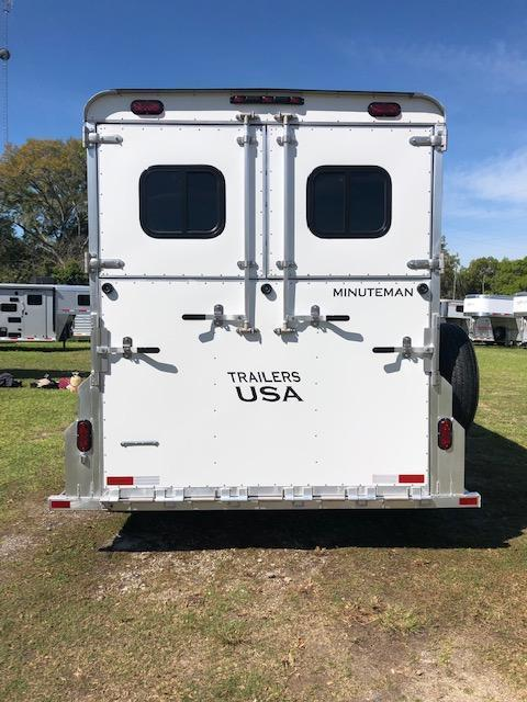 2020 Trailers USA Inc. Minuteman 3H BP w/ Dress Horse Trailer