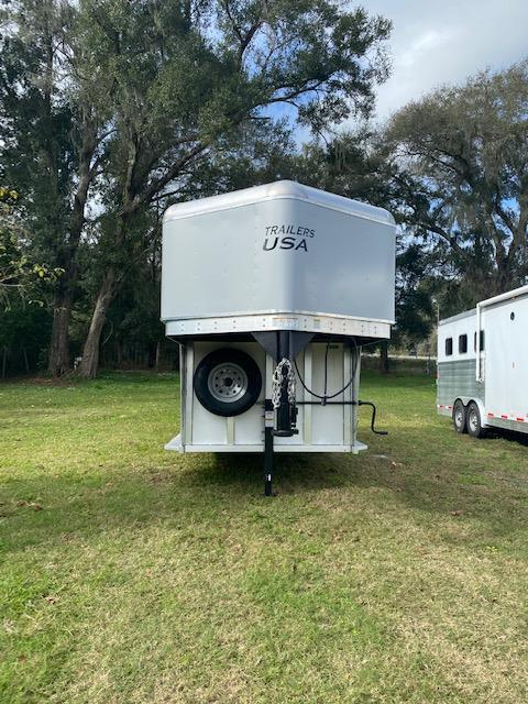 2020 Trailers USA  Minuteman 3H GN Horse Trailer