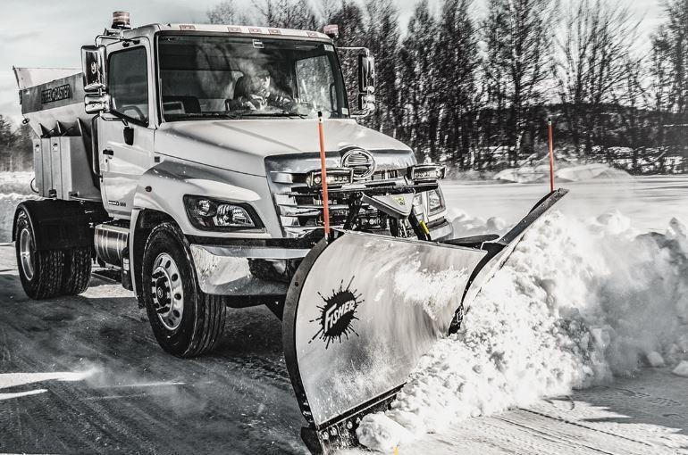 "2020 Fisher Engineering 8'6"" XV2 Stainless Snow Plow"