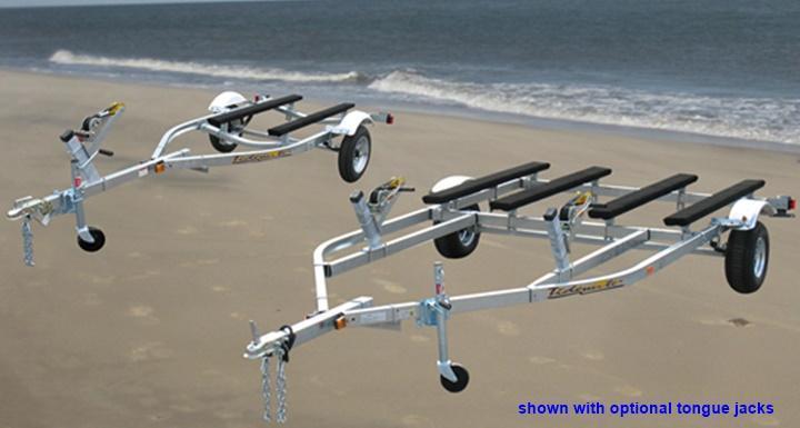 2020 Tidewater Trailers TMV-1200L Jet Ski PWC Trailer