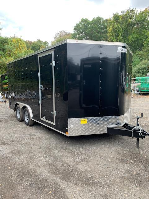 2019 Haulmark Passport 8.5x16 Enclosed Cargo Trailer w/Ramp - Black