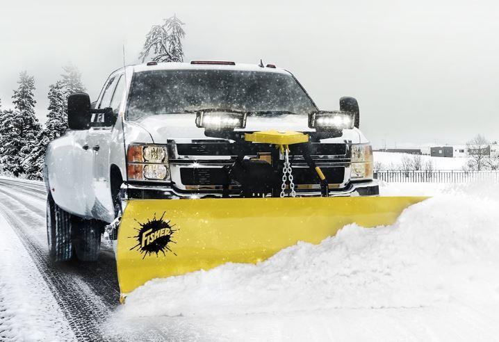 2020 Fisher Engineering 8' HD2 Snow Plow