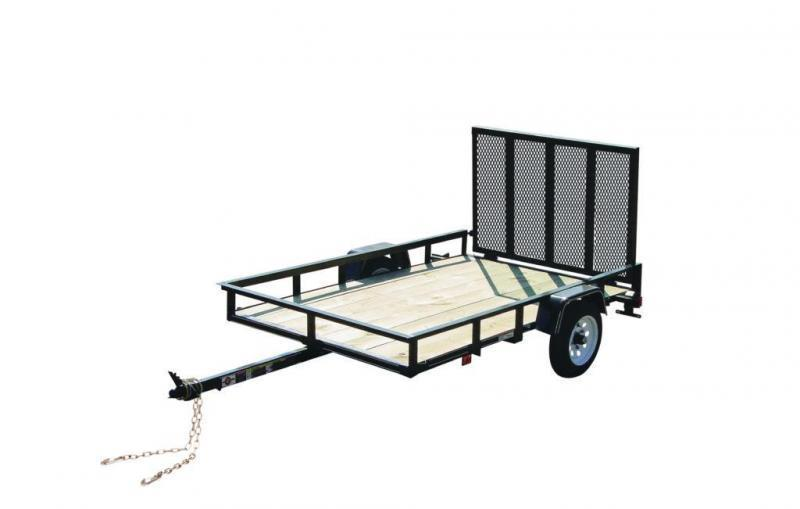 2019 CARRY-ON 4X8GW2K UTILITY TRAILER