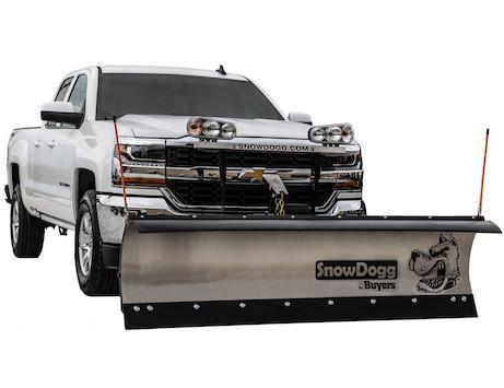 2020 SnowDogg MD68 Stainless Snow Plow