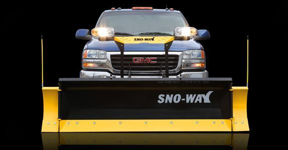 2018 Sno-Way 26R 8' Snow Plow w/ Down Pressure