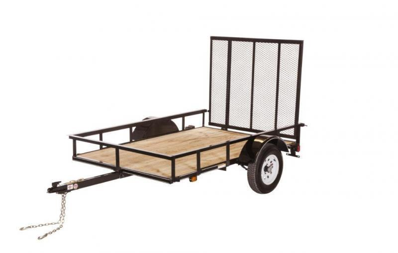 2019 CARRY-ON 5X8SPW UTILITY TRAILER