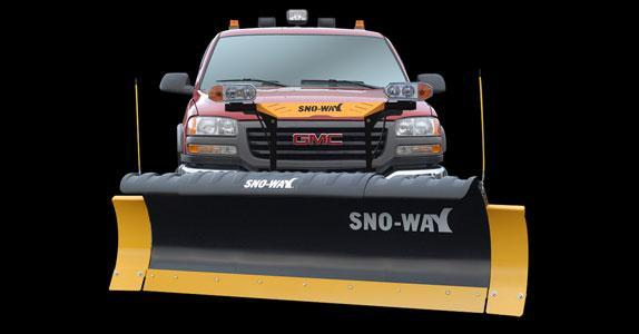"2018 Sno-Way 29HD 7'6"" Snow Plow w/ Down Pressure"