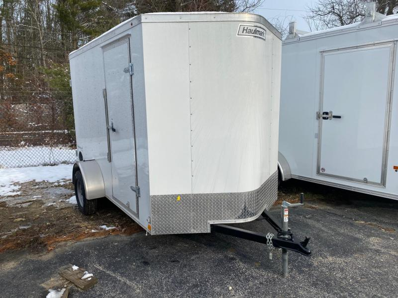 2020 Haulmark Passport 6X10 Enclosed Trailer w/ BARN DOORS - WHITE