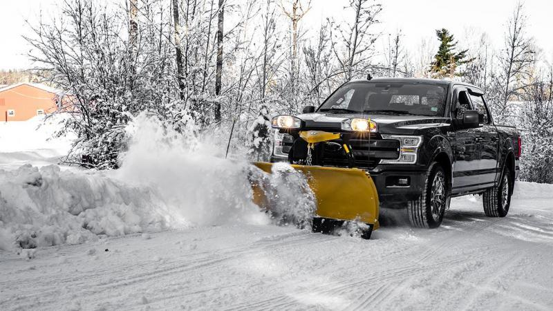 """2020 Fisher Engineering 7'6"""" SD Snow Plow"""