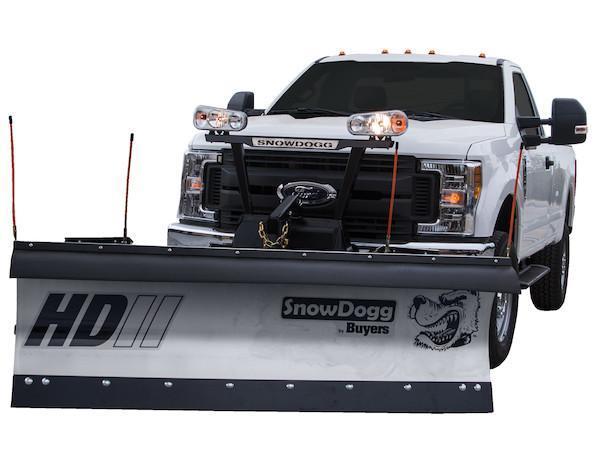 2018 SnowDogg HD75 II Stainless Snow Plow