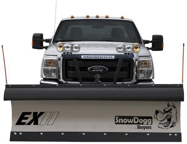 2020 SnowDogg EX80 II Stainless Snow Plow