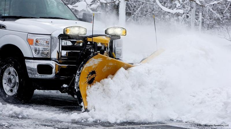 "2020 Fisher Engineering 9'6"" XV2 Mild Steel Snow Plow"