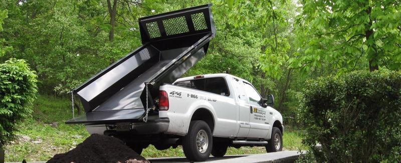EZ Dumper 8' Truck Bed Dump Insert