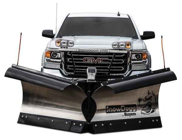2020 SnowDogg VXF85 II Stainless Snow Plow