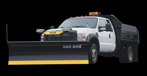 "2020 Sno-Way 32C 8'6"" Snow Plow w/ Down Pressure"
