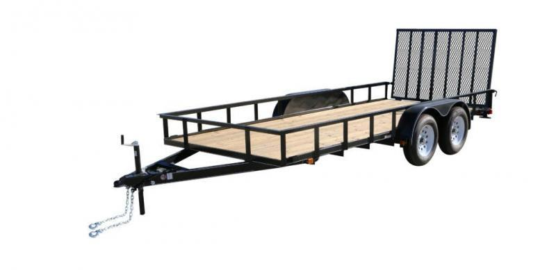 2020 Carry-On 7X18GW2BRK Utility Trailer