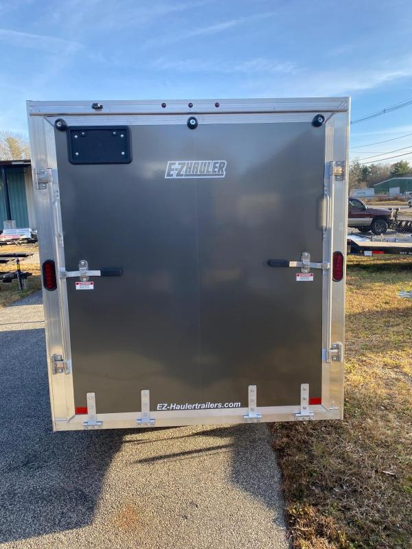 2020 EZ HAULER 6X12 Enclosed Cargo Trailer w/ RAMP - CHARCOAL