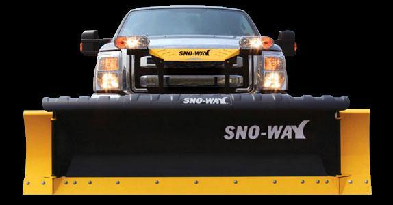 "2018 Sno-Way 29R 8'10"" Snow Plow w/ Down Pressure"