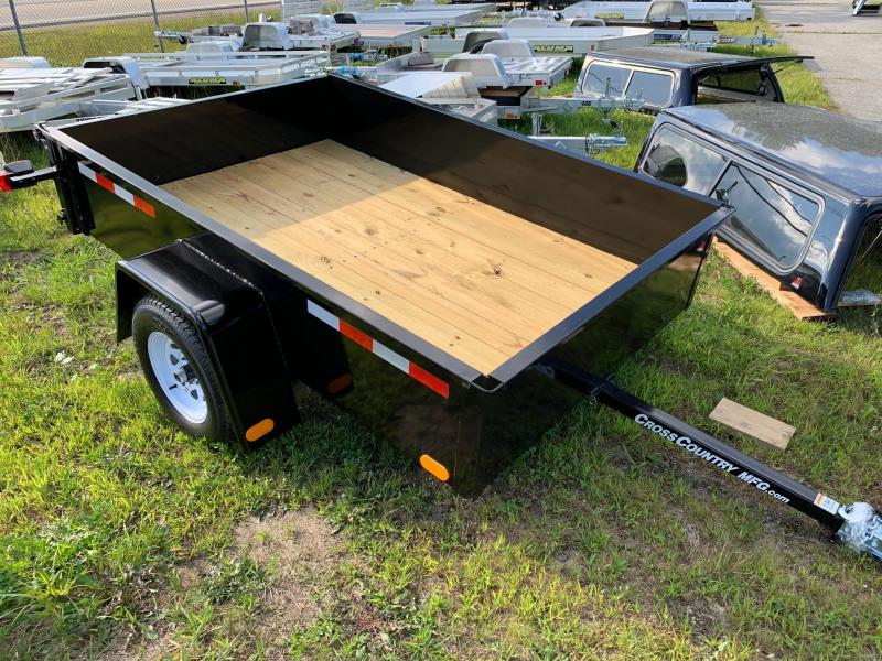 2019 Cross Country Manufacturing 58SB Utility Trailer