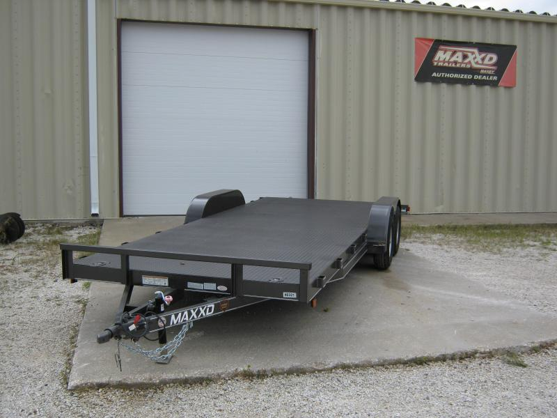 2017 Maxxd Trailers C3M WHITE SERIES Car / Racing Trailer