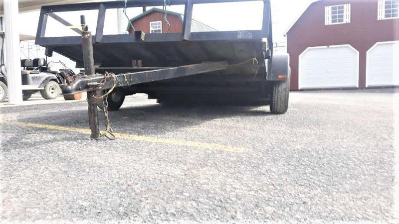 1998 Used Pequea Single Axle Utility Tilt 6x10 2900 GVWR / USED AS IS