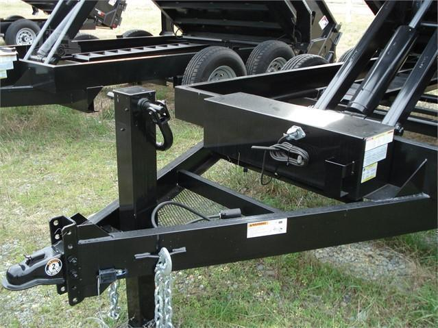 """Hawke Low Profile Dump 72""""x10'  10K -80"""" Slide In Ramps -6"""" Channel Frame & Tongue -12 Gauge Floor -24"""" Sides -Spare Mount -Two Way Tailgate -Power Up & Down -LED Lights -15"""" 10 Ply Radial Tires"""