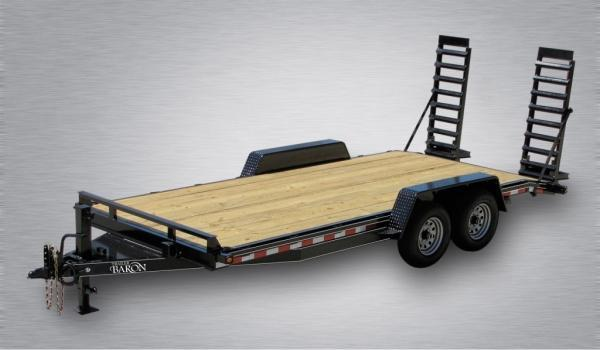 """Pro Grade Equipment 18' 12K -5' Swing Up Ramps -6"""" Channel Frame -6"""" Tongue -Adjustable Coupler -12K Drop Leg Jack -Tool Tray With Lockable Lid -2' Dovetail -LED Lights -16"""" 10 Ply Nitrogen Filled Radial Tires"""
