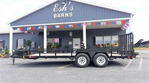 Used 2016 B-Wise Tandem Axle Landscape 18' 10K