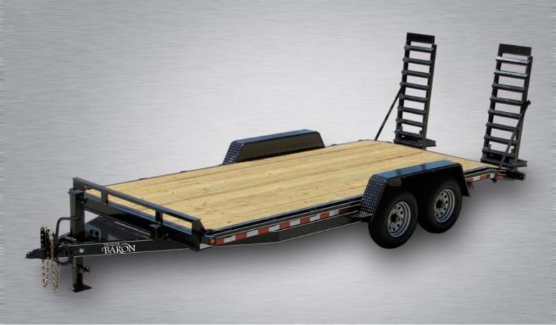 """Pro Grade Equipment 20' 15K -5' Swing Up Ramps -6"""" Channel Frame -6"""" Tongue -Adjustable Coupler -12K Drop Leg Jack -Tool Tray With Lockable Lid -2' Dovetail -LED Lights -16"""" 10 Ply Nitrogen Filled Radial Tires"""