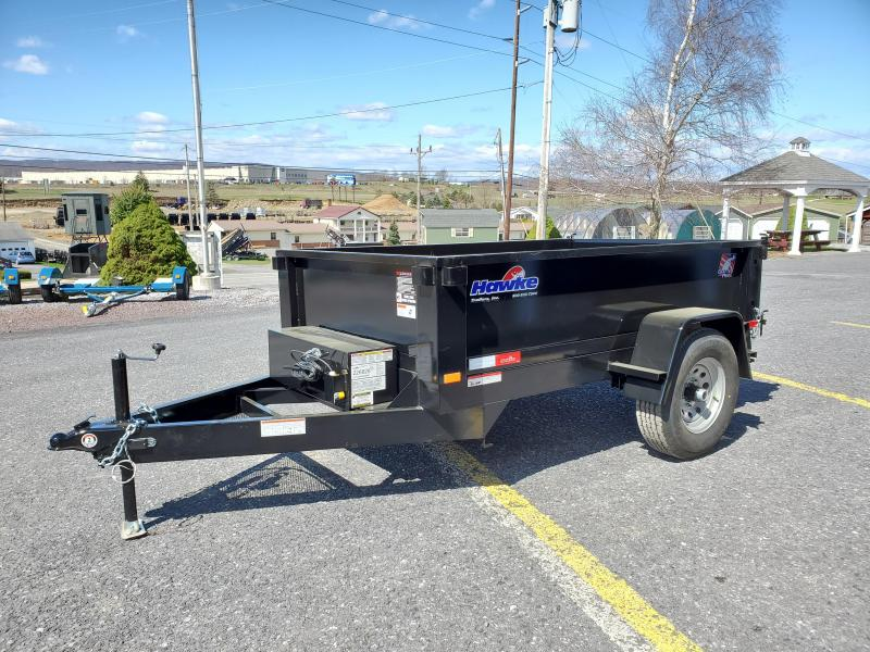 2020 Hawke Trailers Low Profile Dump 5' X 8' Dump Trailer