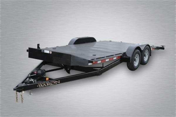 """Pro-Grade Diamond Deck Hydraulic Full Tilt 20' 10K 6"""" Tube Frame & Tongue -4' Dovetail -6 D-Rings & 10 Stake Pockets with Rubrail -Smooth Teardrop Fenders -15"""" 10 Ply Nitrogen Filled Radial Tires"""