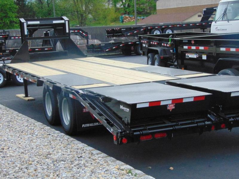 2020 PJ Trailers Low-Pro Flatdeck with Duals (LD) 25'
