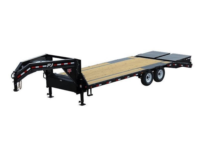 2020 PJ Trailers Low-Pro Flatdeck with Singles (LS) 28'